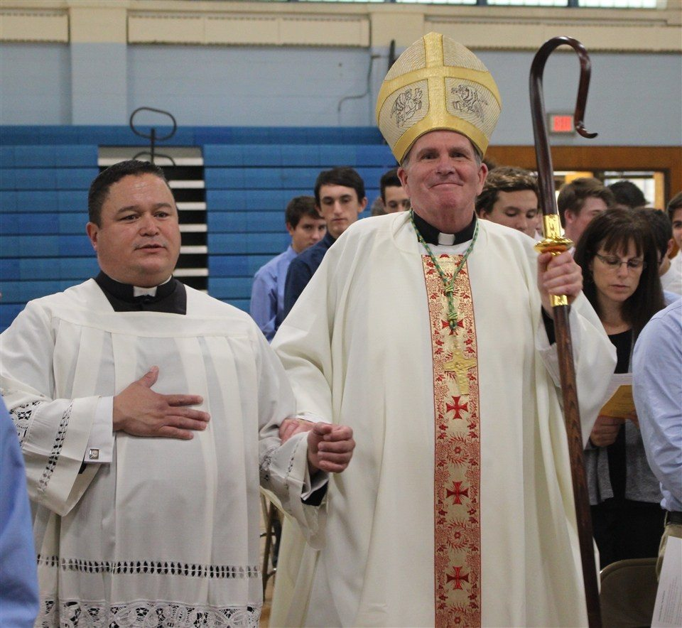 Three Tampa Prep Students Present To American Society Of: BISHOP O'CONNELL CELEBRATES MASS ON VOCATION DAY AT THE