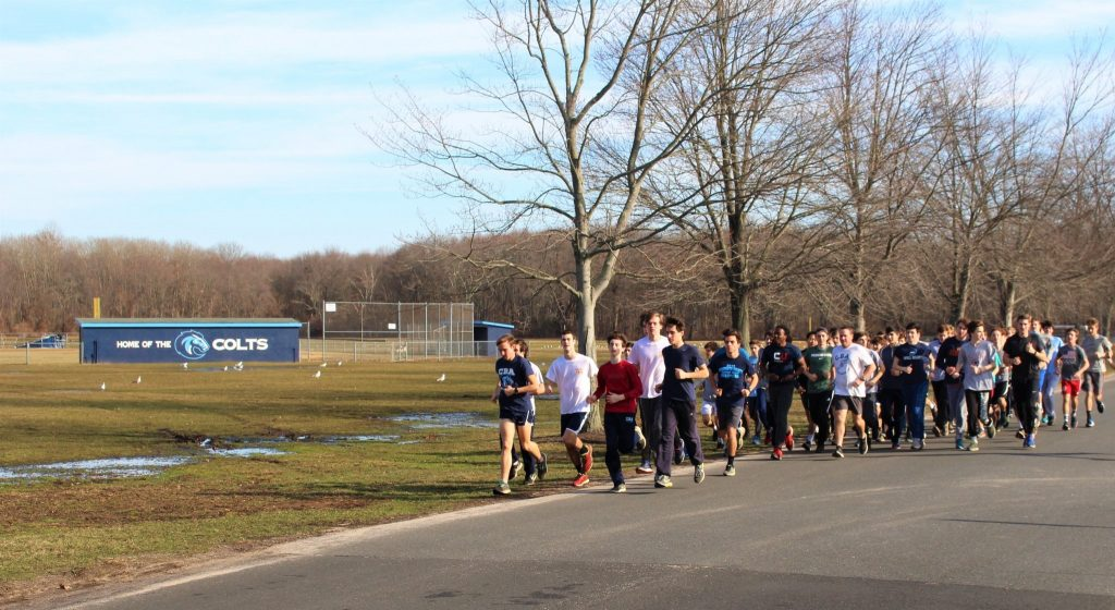 Colts Runners Lead Tribute to Fallen Majory Stoneman Douglas Cross Country Coach